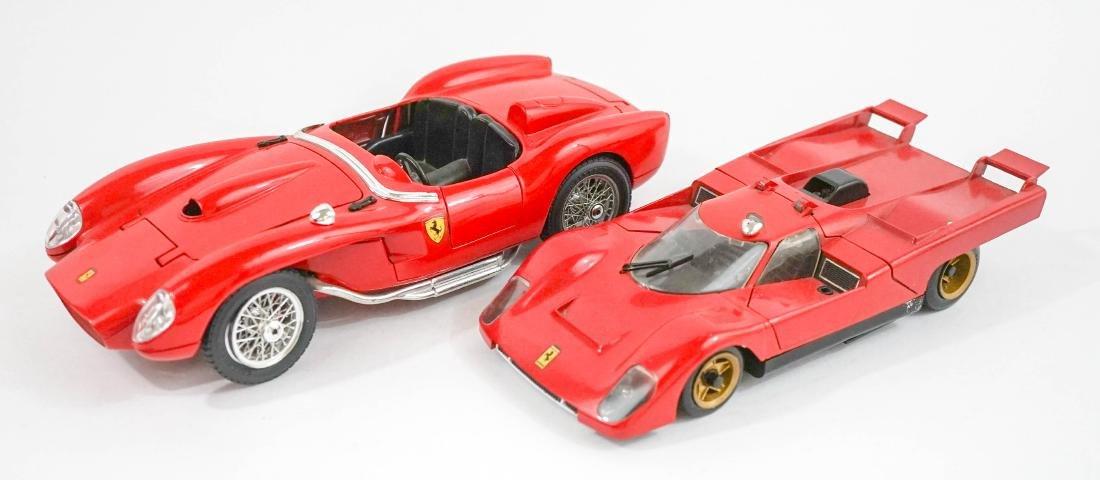 Two 1:20 Scale Model Ferrari Cars - 2