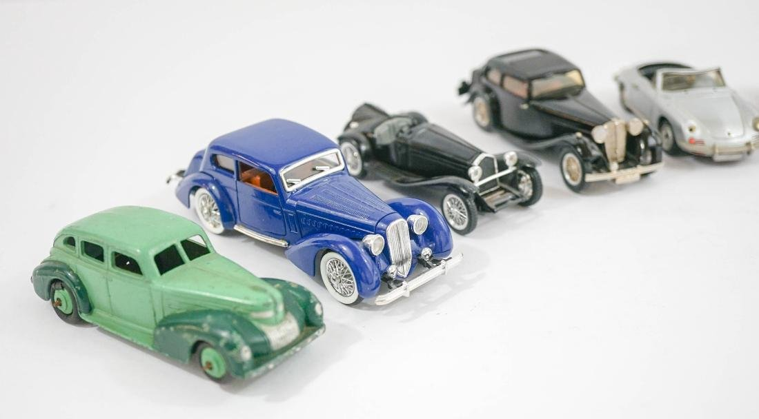 Group of eight 1:43 Scale Model Cars - 2
