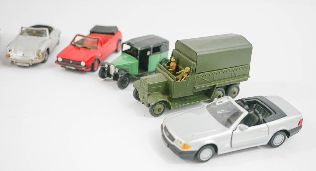 Group of eight 1:43 Scale Model Cars - 3
