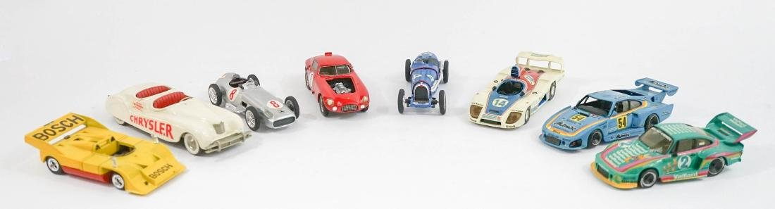 Group of Eight 1:43 Scale High-End Model Cars