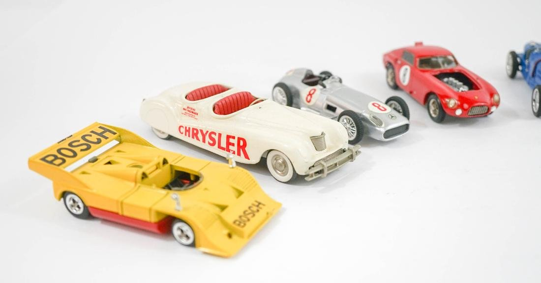 Group of Eight 1:43 Scale High-End Model Cars - 2