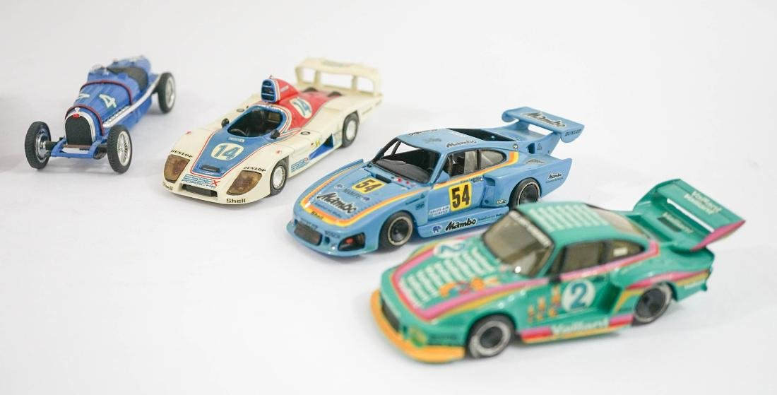 Group of Eight 1:43 Scale High-End Model Cars - 3