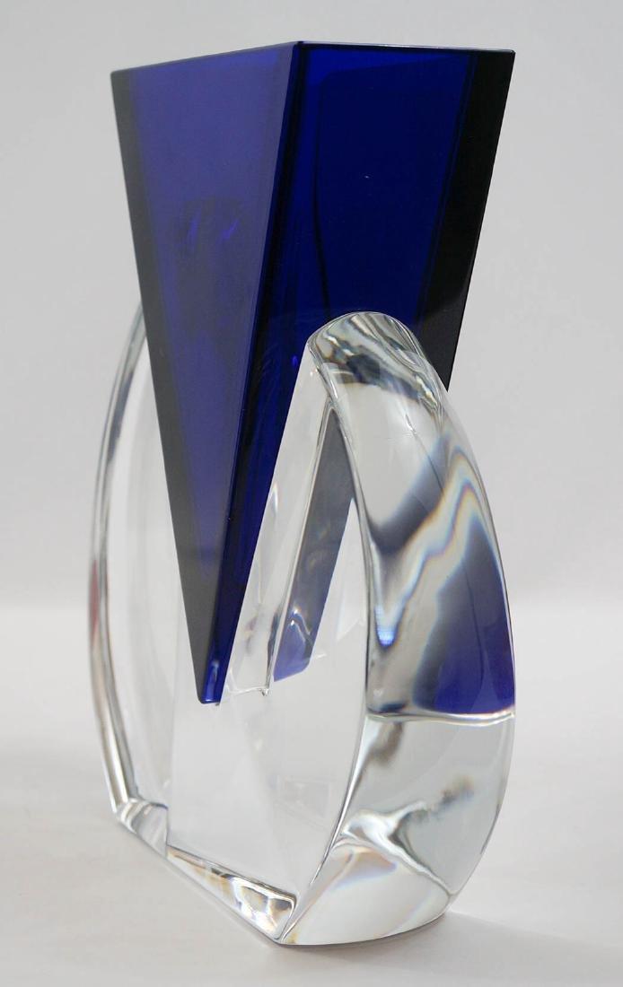 Baccarat Vecteur [Vector] Vase Mint In Box