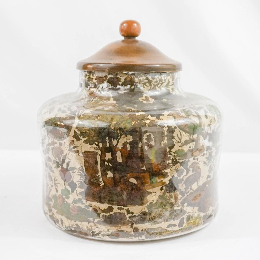 Early Large Covered Jar
