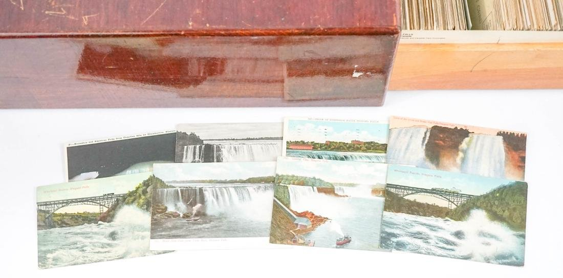 Card File Full of Old Postcards - 2