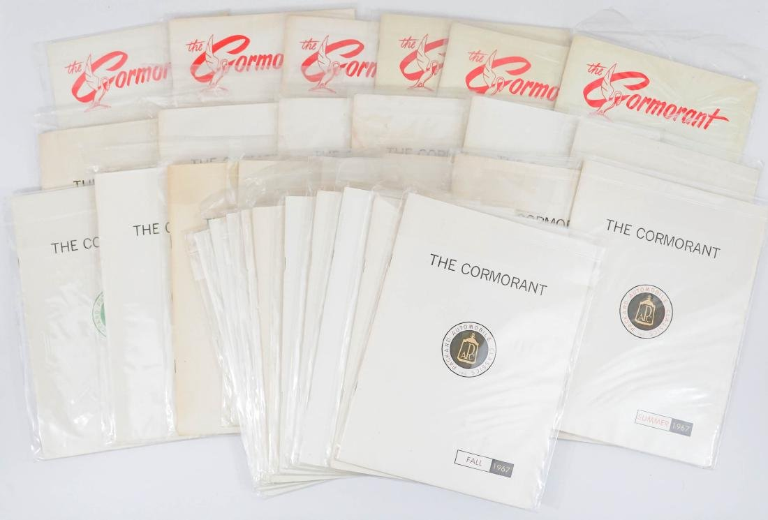 Thirty Issues of The Cormorant Packard Collecting