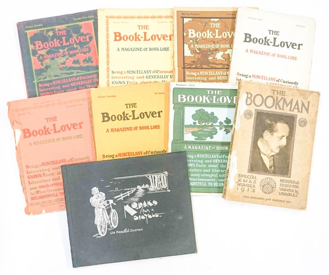 A Collection of The Book-Lover Magazines