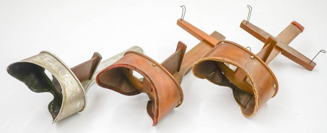Three Antique Stereoviewers