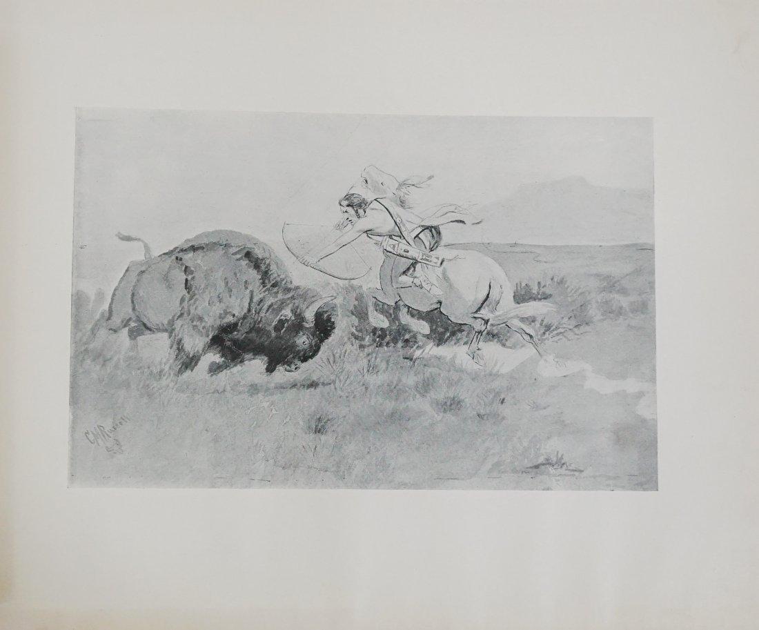 Charles Russell Book, Gary Carter Original Art - 5