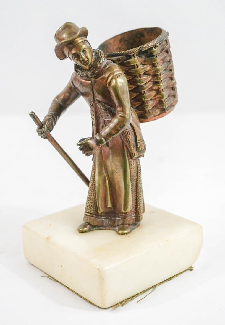 Figural Match or Cigarette Holder
