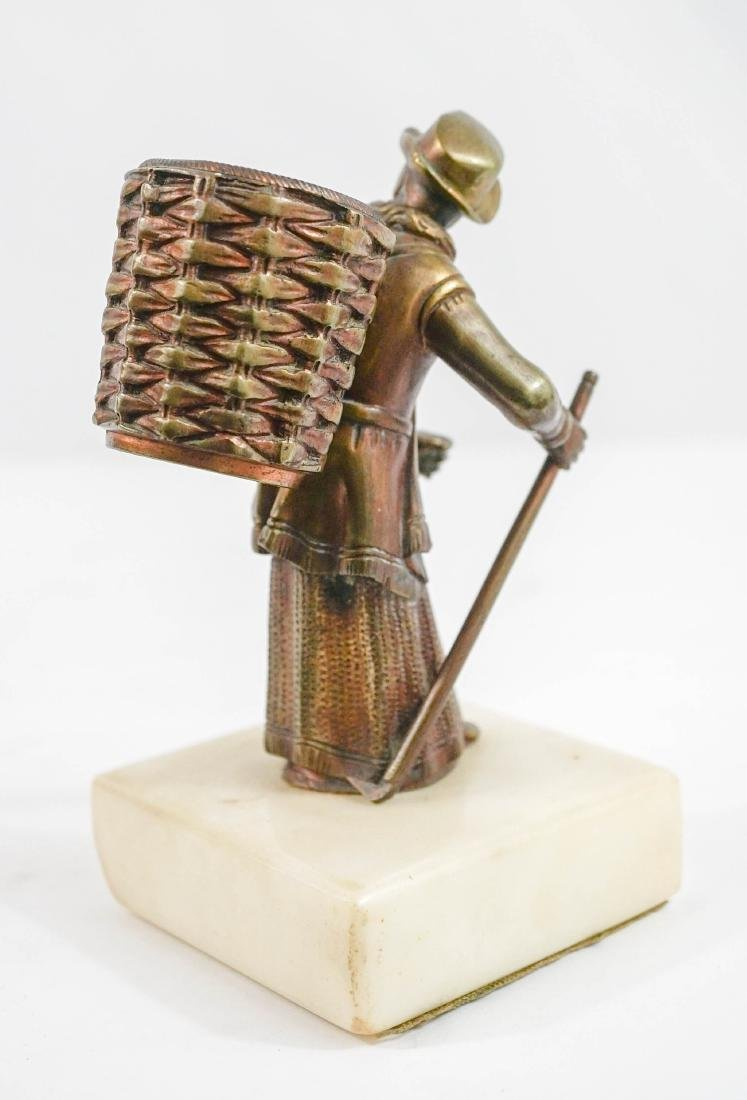 Figural Match or Cigarette Holder - 2