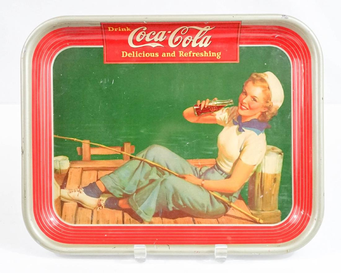 An Authentic Vintage Coca-Cola Tray