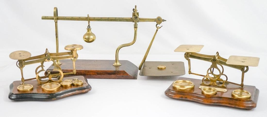 Three Antique Scales