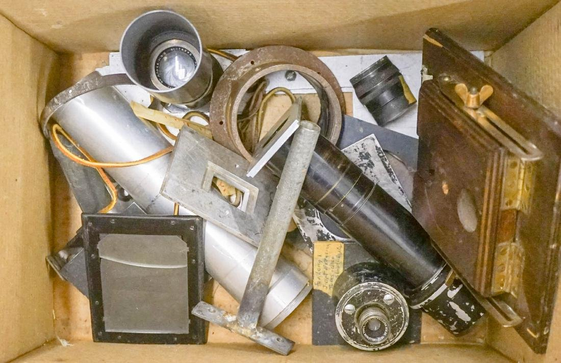 Group of Old Camera Parts
