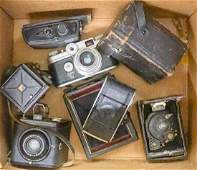 Group of Old Cameras