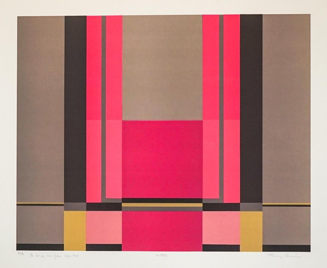 Fanny Sanin (born 1938) Lithograph Artist Proof