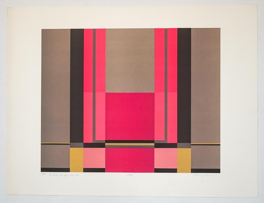 Fanny Sanin (born 1938) Lithograph Artist Proof - 2