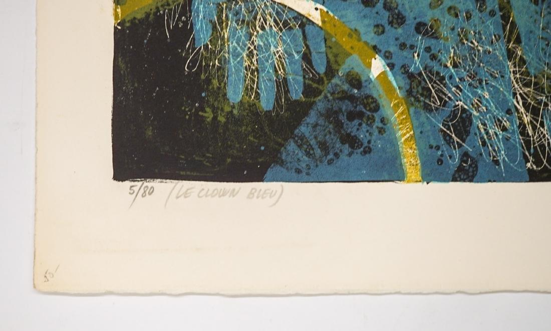 Pierre Jacquot Lithograph [Le Clown Bleu] - 4
