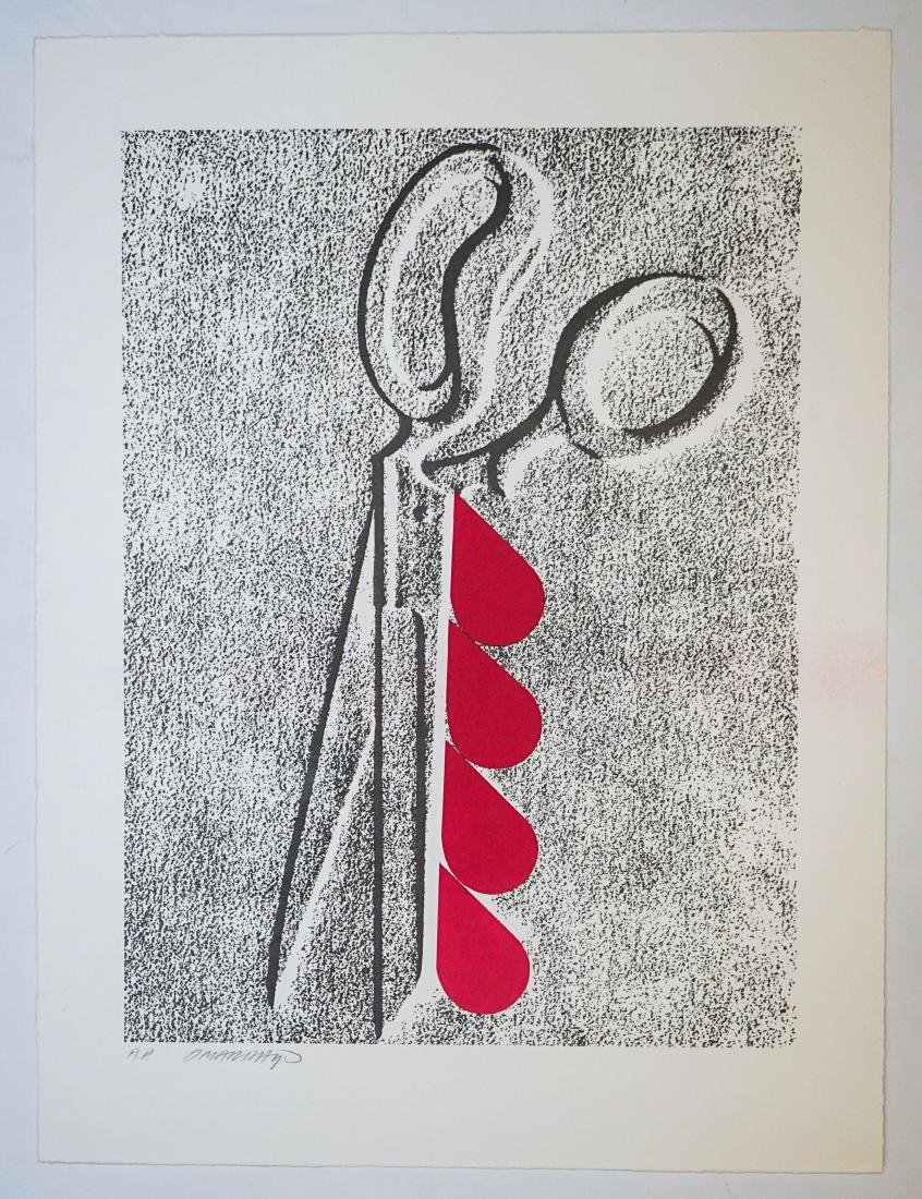 Omar Rayo (Columbian 1928-2010) A.P. Lithograph - 2