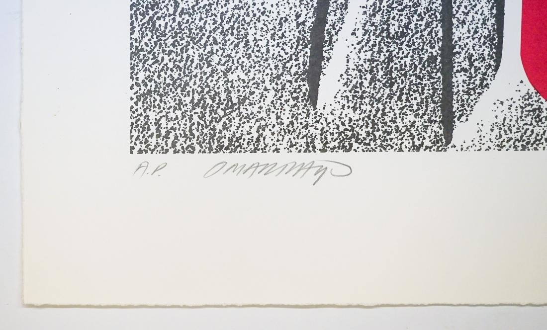 Omar Rayo (Columbian 1928-2010) A.P. Lithograph - 3