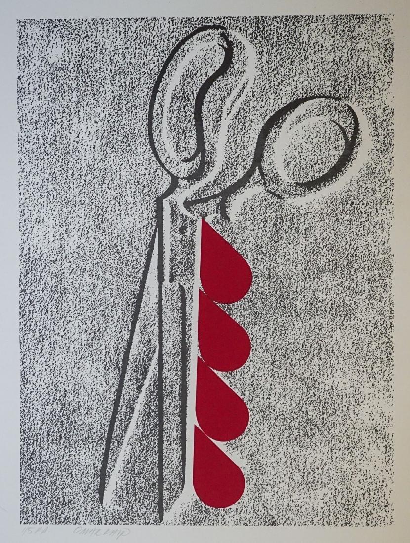 Omar Rayo (Columbian 1928-2010) P.P. Lithograph