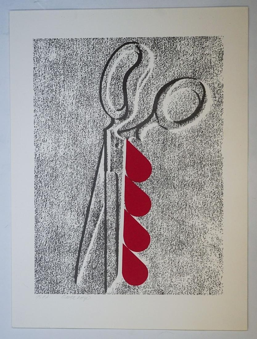 Omar Rayo (Columbian 1928-2010) P.P. Lithograph - 2