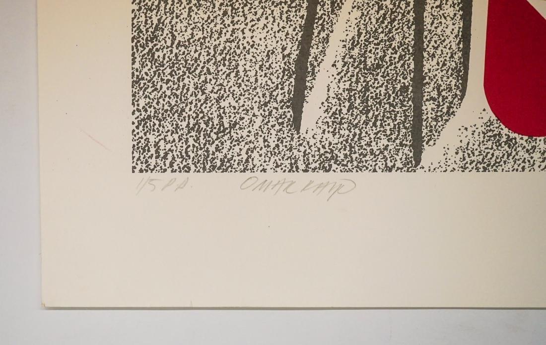 Omar Rayo (Columbian 1928-2010) P.P. Lithograph - 3