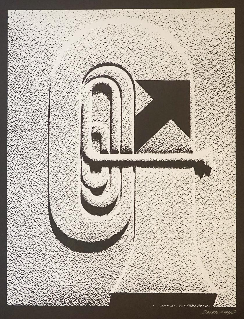 Omar Rayo (Columbian 1928-2010) Lithograph