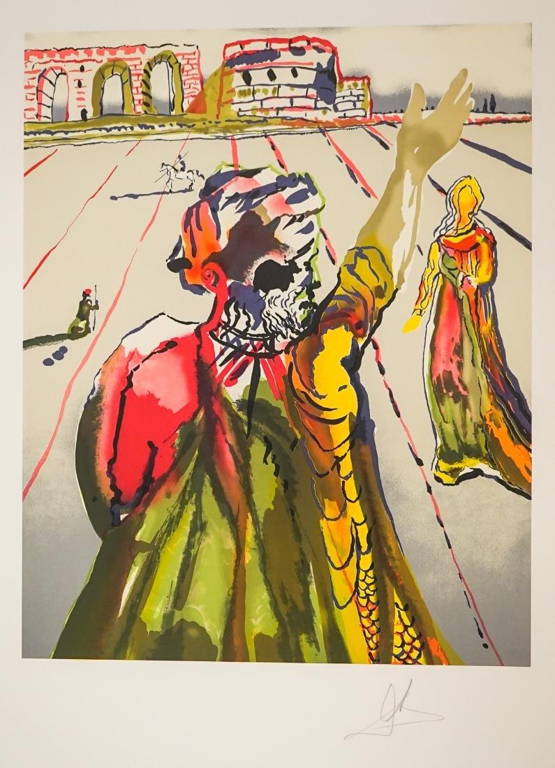 Salvador Dali Lithograph E/O Printer Jorge Dumas