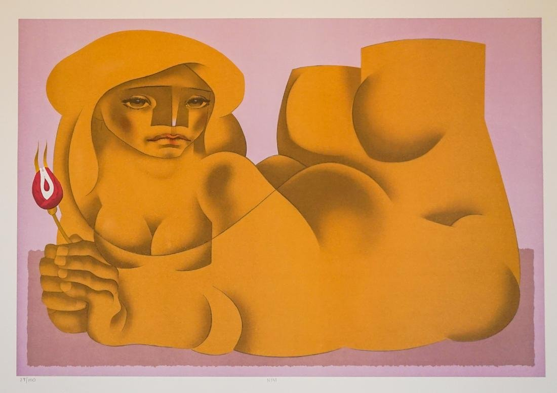 Jorge Dumas Lithograph From Estate of Artist