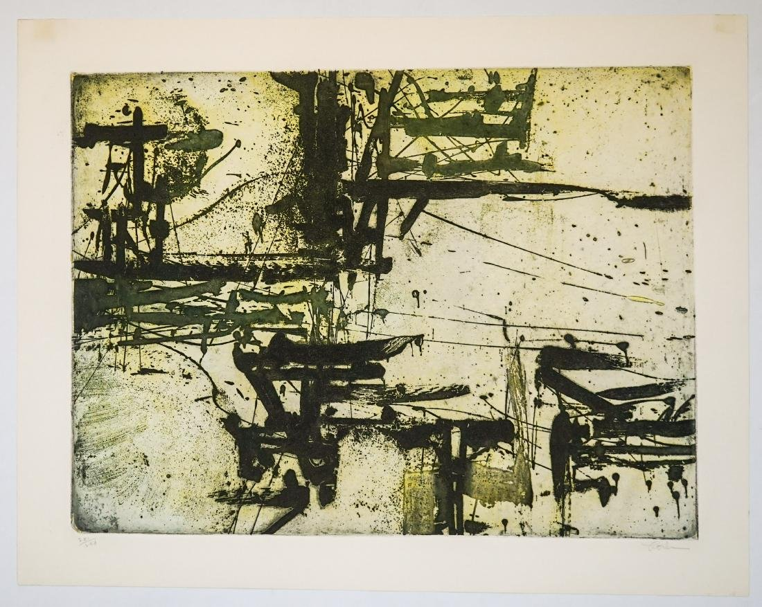 Harry Hoehn (New York 1918-1974) Aquatint - 2