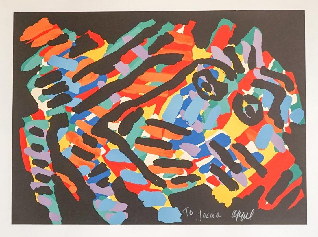 Karel Appel Lithograph Fr. E/O Printer Jorge Dumas - 2