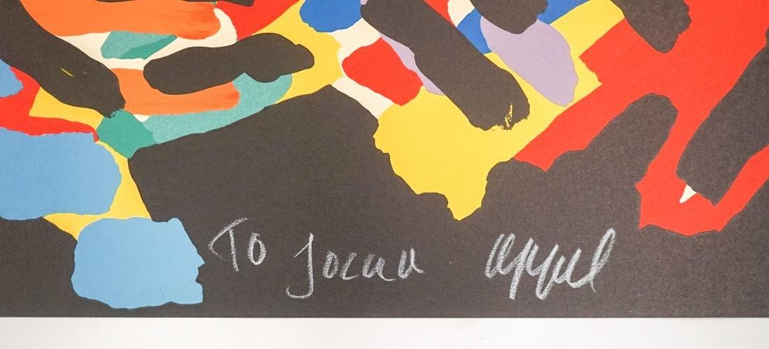 Karel Appel Lithograph Fr. E/O Printer Jorge Dumas - 3