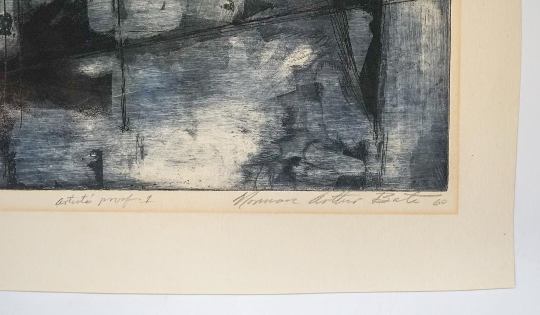 Norman Arthur Bate Etching - 5