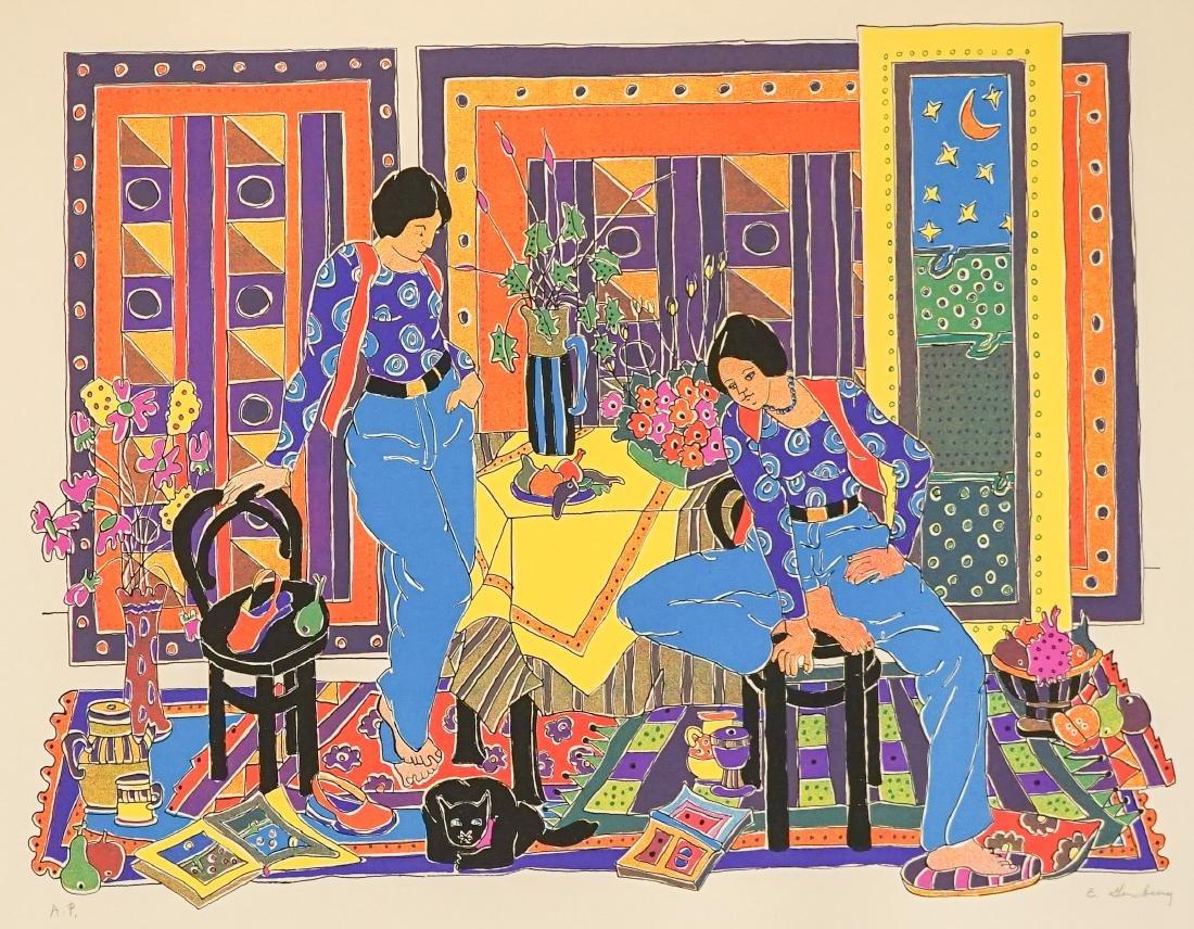 Estelle Ginsburg Artist Proof Lithograph