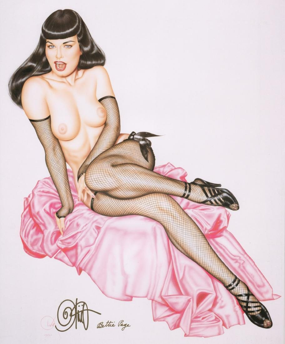 Olivia De Beradinis Bettie Page Banned in Boston