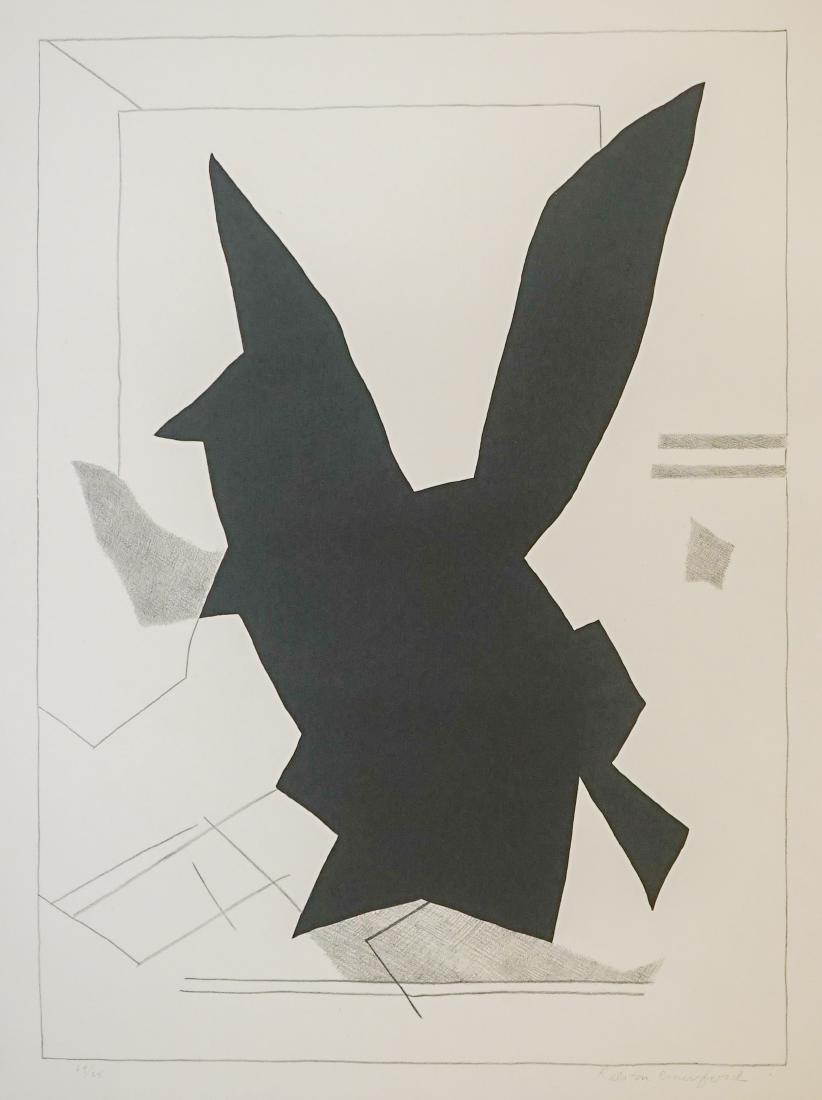 Ralston Crawford Lithograph