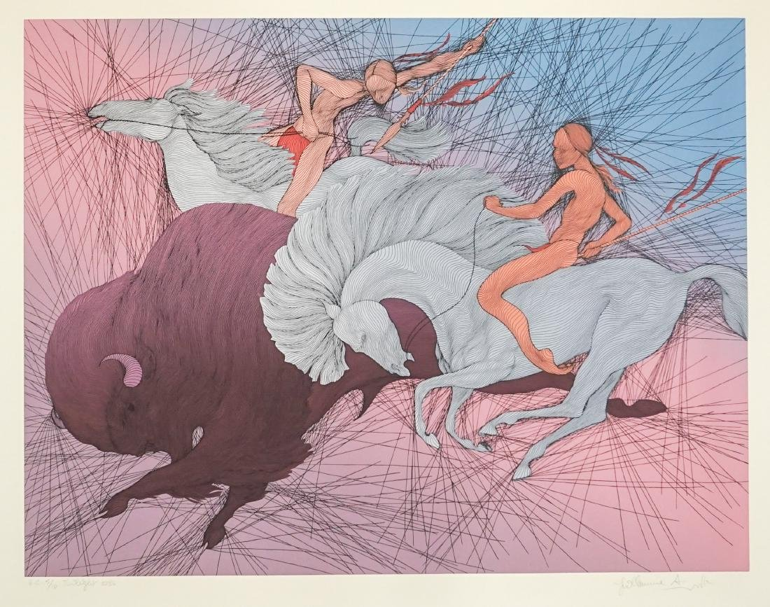 Guillaume Azoulay H.C. Serigraph [Twilight]