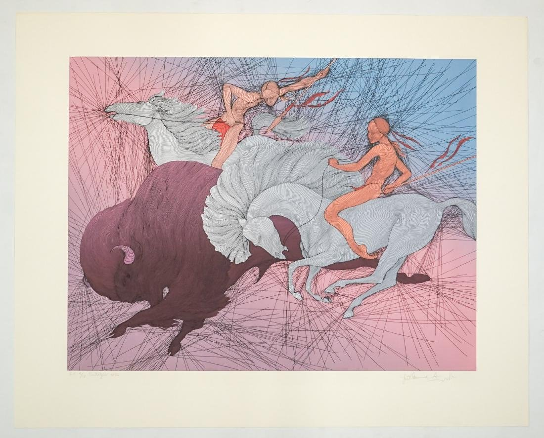 Guillaume Azoulay H.C. Serigraph [Twilight] - 2