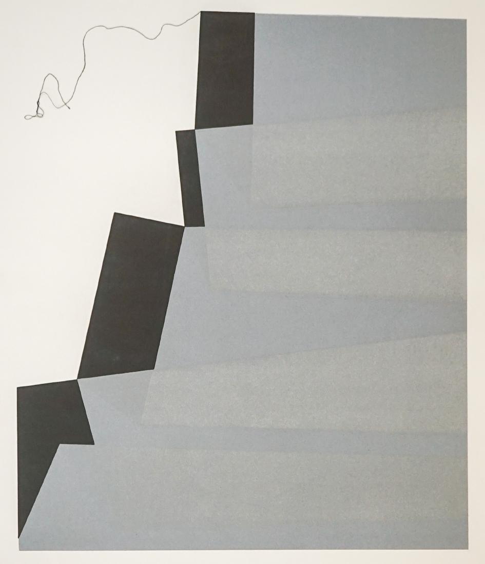Jack Sonnenberg Aquatint Etching Dimensions No.4