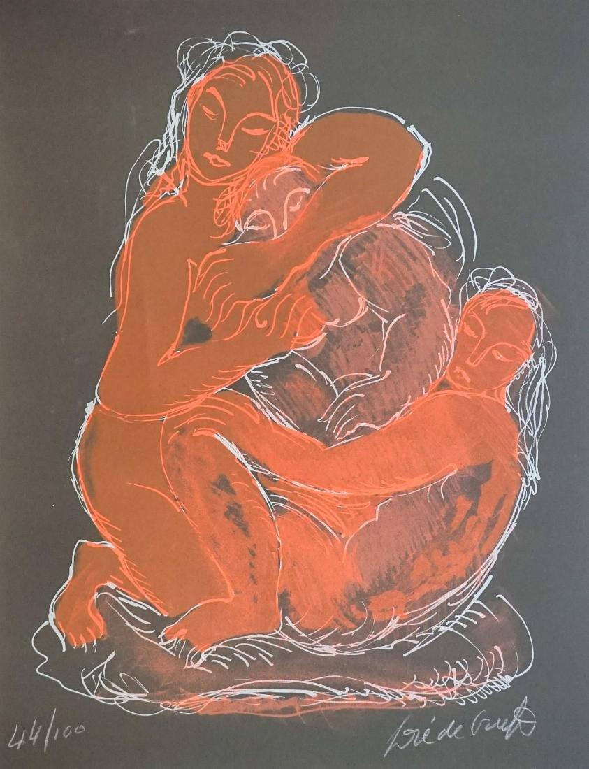 Jose De Creeft Lithograph