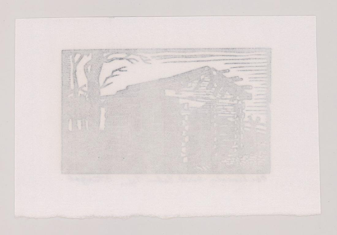 Charles Turzak Woodblock Print - 4