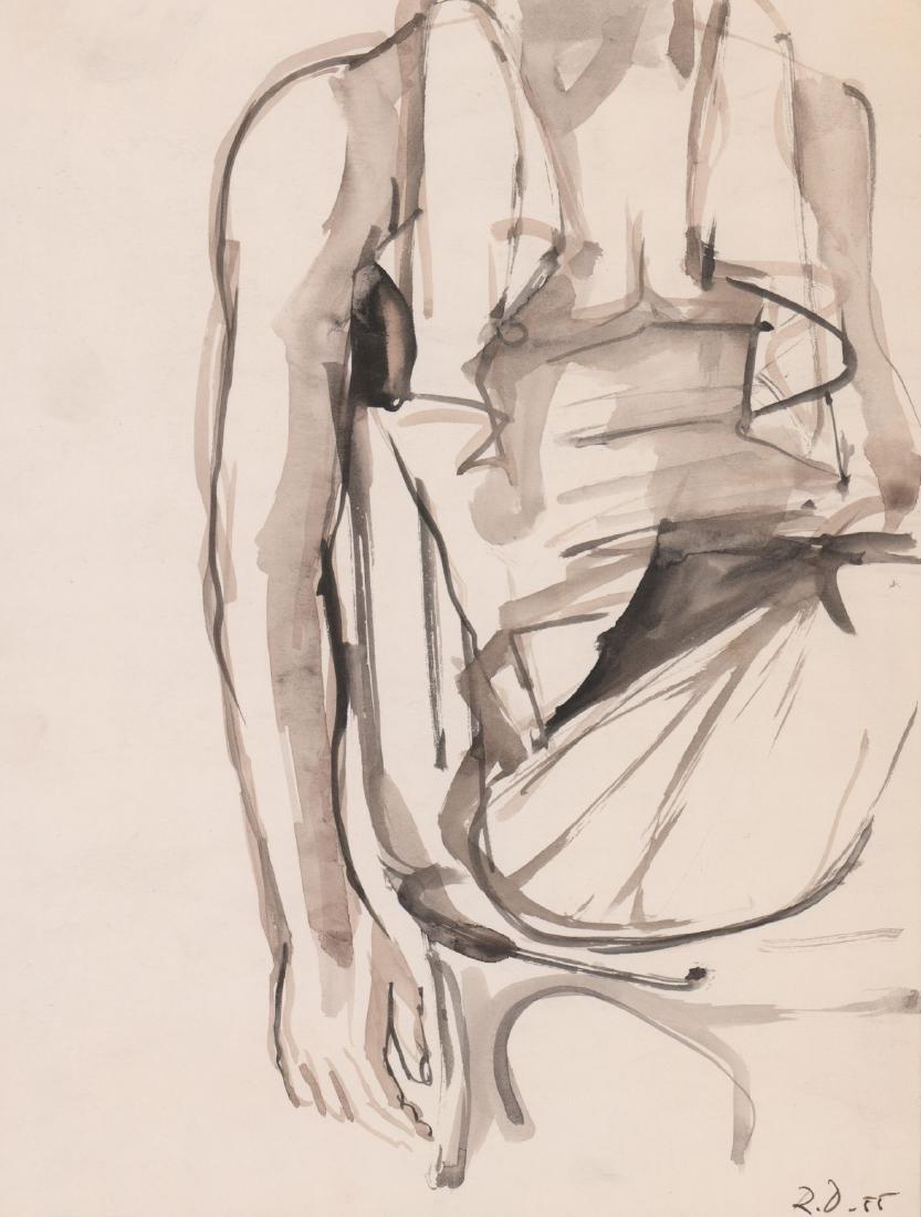 Richard Diebenkorn, Untitled Original Art