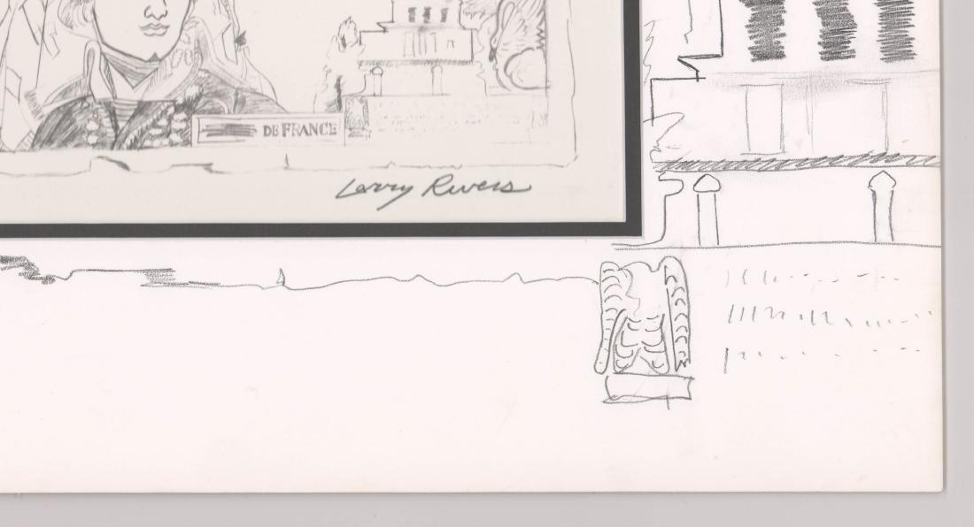 Larry Rivers Lithograph, Original Art On Mat - 3