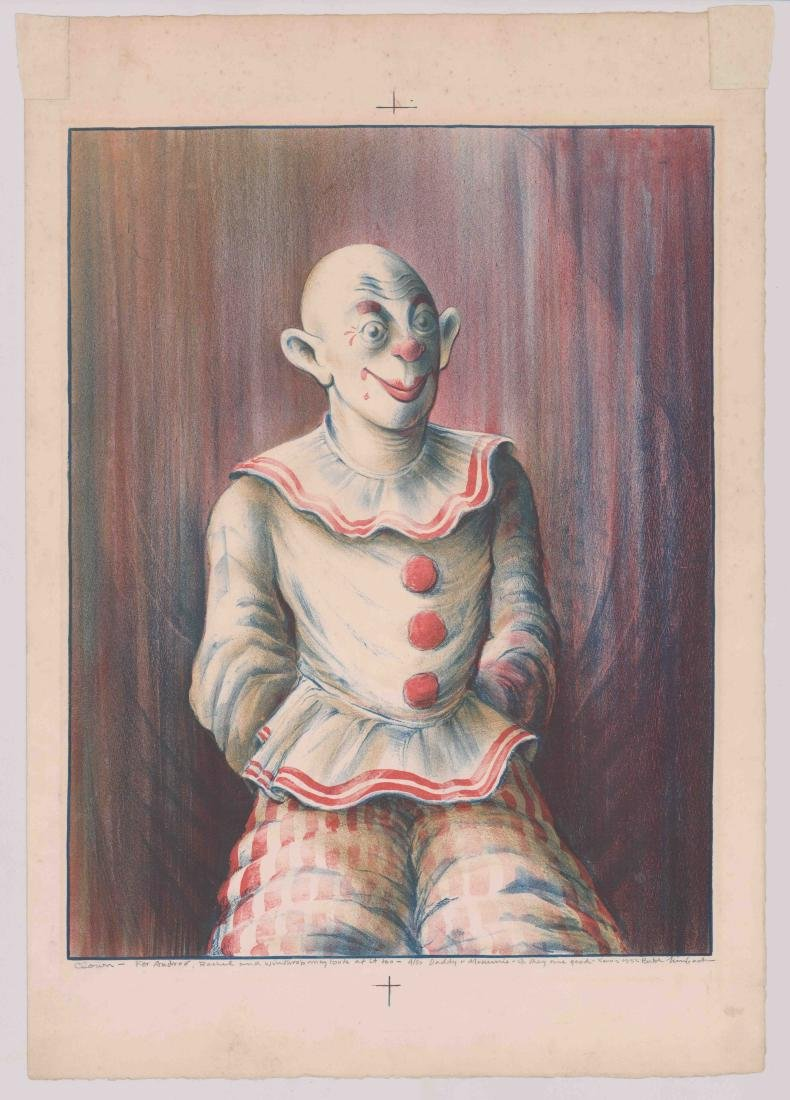 """Russell """"Butch"""" Limbach Lithograph - 2"""