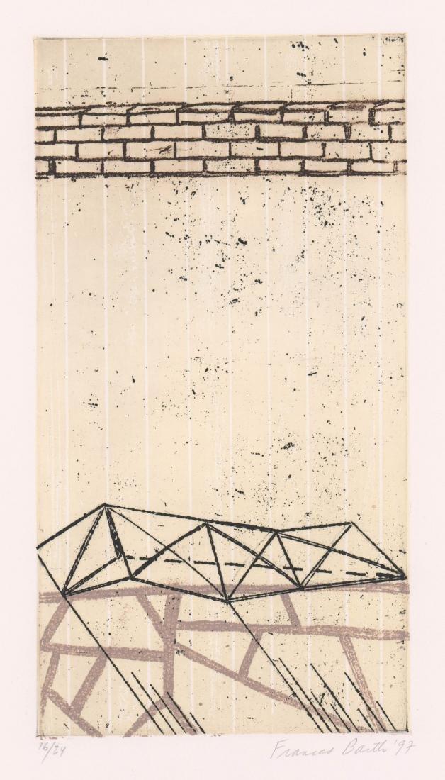 Frances Barth (New York born 1946) Etching