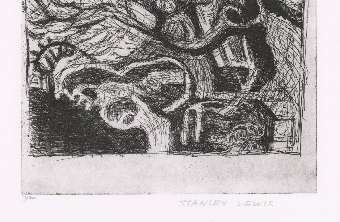 Stanley Lewis (Quebec, Canada 1930-2006) Etching - 3