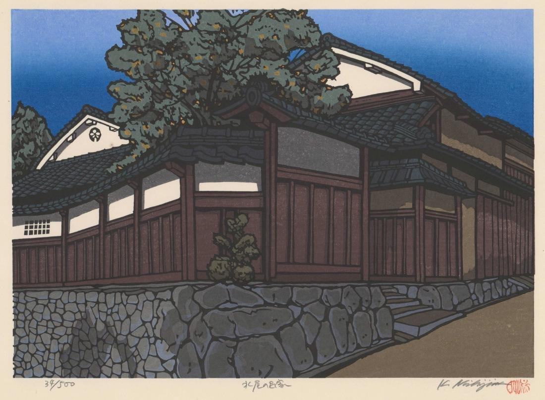 Katsuyuki Nishijima Woodblock Print