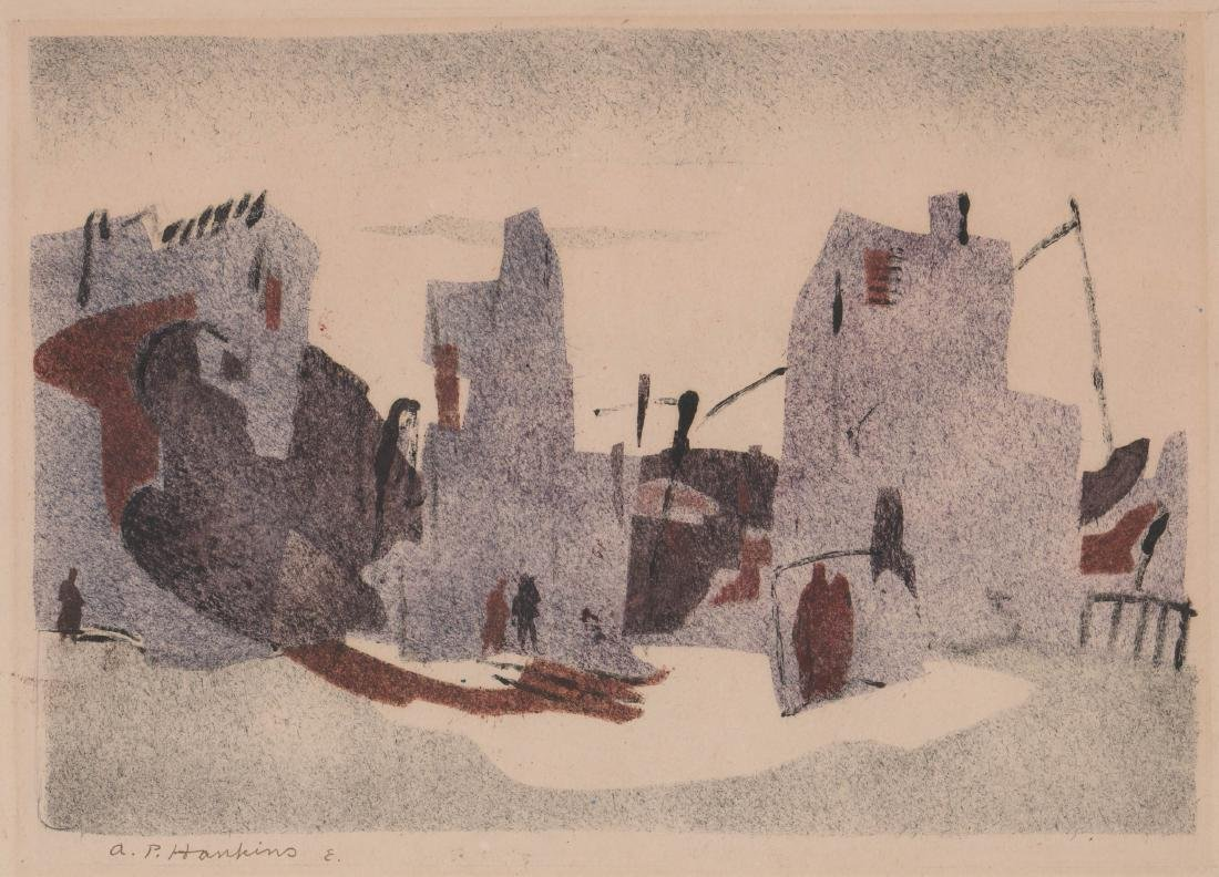 Abraham Hankins Lithograph