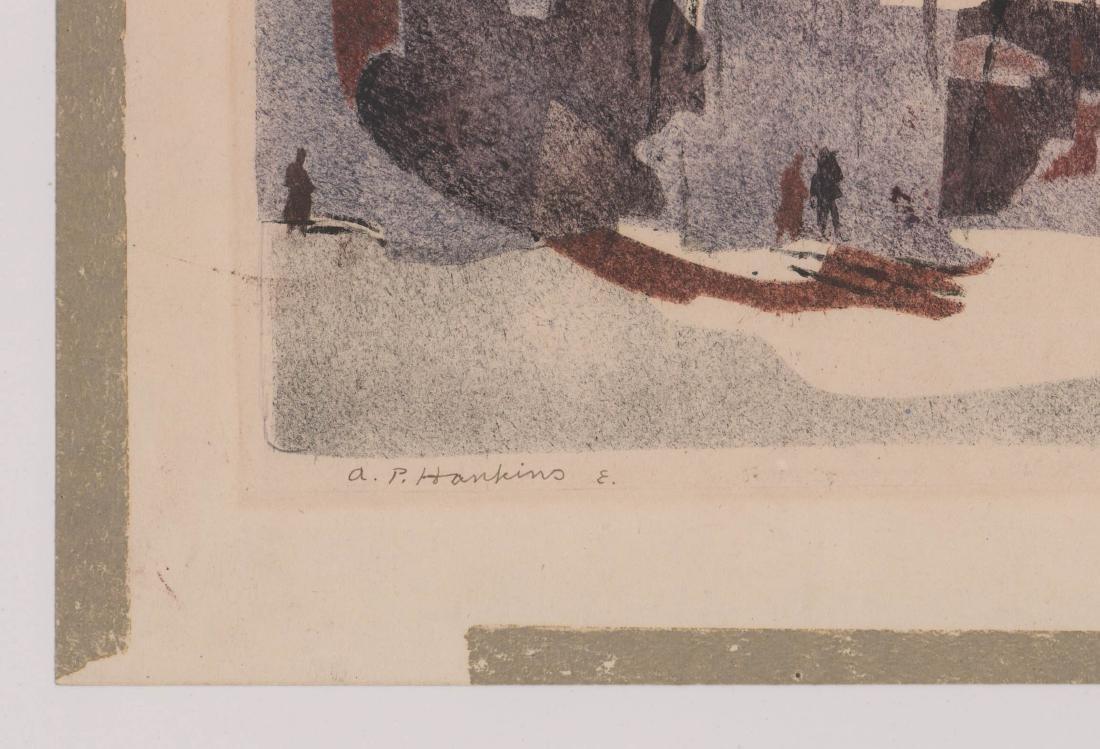 Abraham Hankins Lithograph - 3